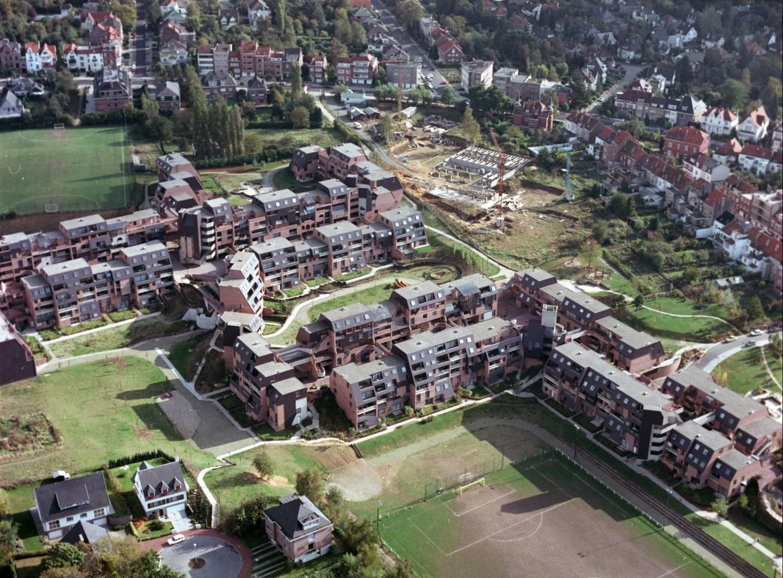 Vue aérienne des Venelles© © Régie des Bâtiments