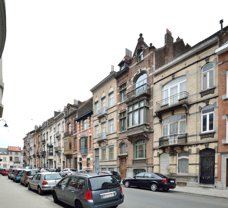 Rue Timmermans à partir du no26, 2016