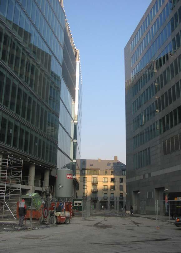 Rue André Bertulot, vue vers la rue du Progrès., 2005