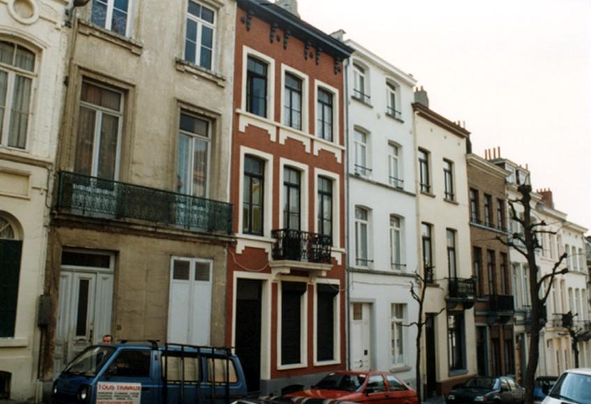 Rue de l\'Ascension, côté pair (photo 1993-1995).