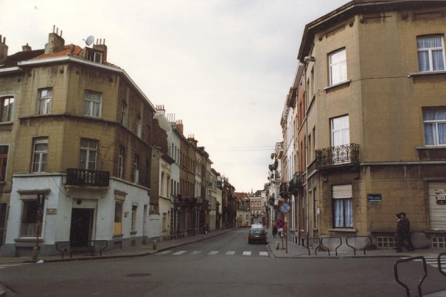 Rue Braemt, constructions entre les rues de la Ferme et des Moissons (photo 1993-1995).