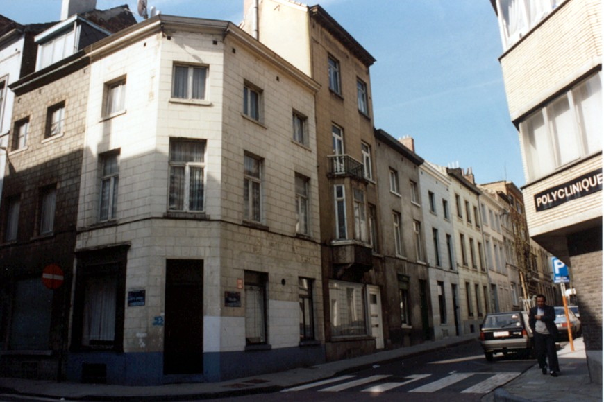 Rue Gillon, côté pair vu depuis la rue de la Limite., 1994