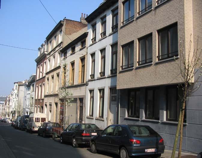 Côté impair, vue en direction de la rue Botanique., 2005