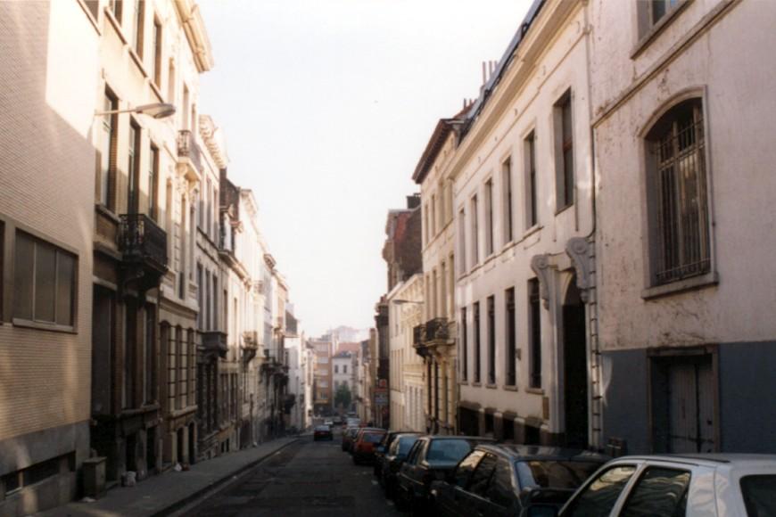 Rue Hydraulique vue depuis la rue de la Charité vers la rue des Deux-Églises., 1993