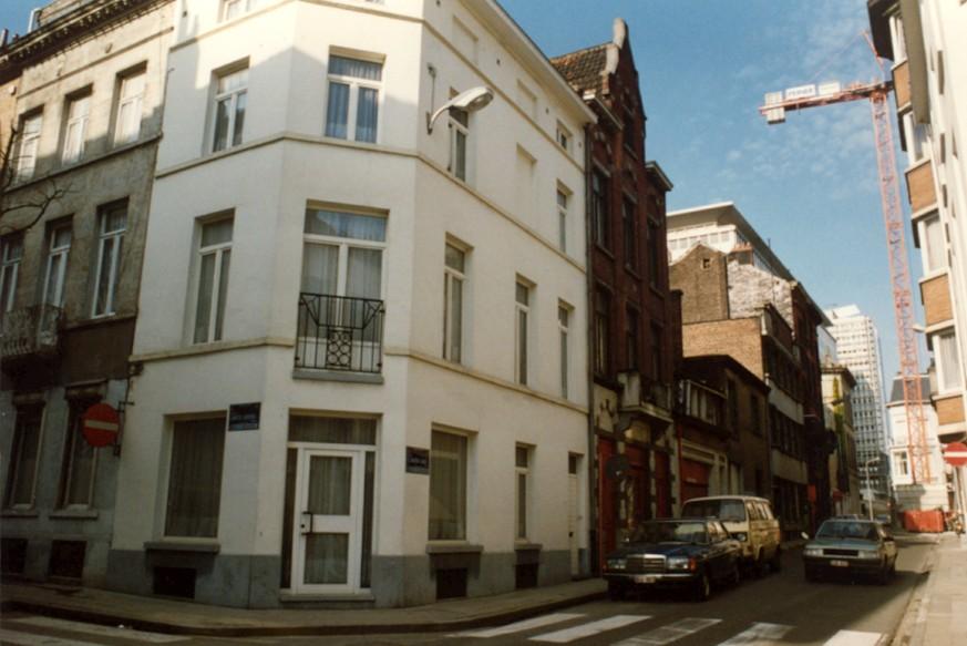 Rue de l\'Union, côté pair depuis la rue de la Limite (photo 1993-1995).