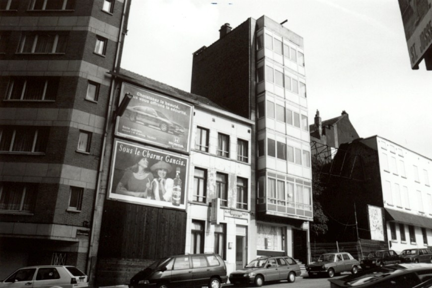 Square Victoria Régina, côté nord (photo 1993-1995).